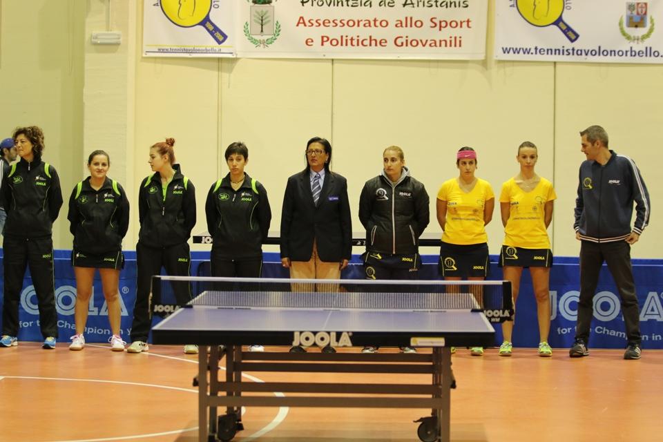 La presentazione della A1 femminile (Foto Gianluca Piu)