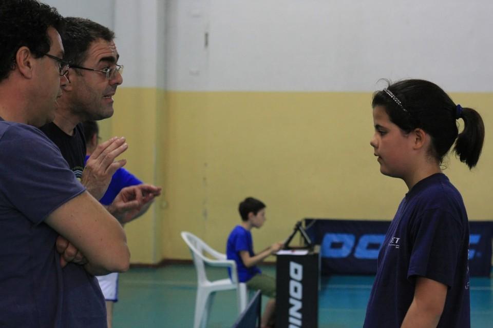 Il tecnico Maurizio Saiu con la figlia Chiara (Foto Tomaso Fenu)