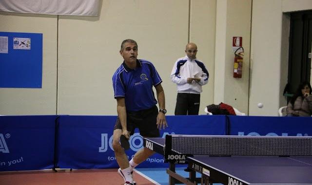 Antonello Ledda del Tennistavolo Norbello (Foto Gianluca Piu)