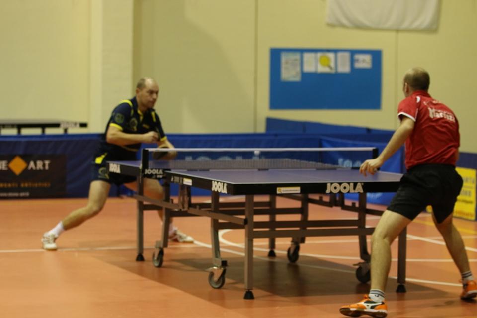 Due ex compagni Kuznetsov e Rocca si affrontano nel derby maschile (Foto Gianluca Piu)
