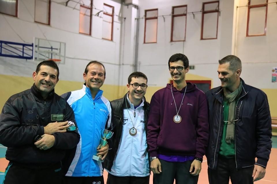 Il podio dei terza maschili (Foto Tomaso Fenu)