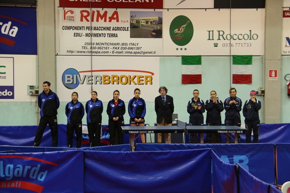 La presentazione della gara femminile (Foto Gianluca Piu)