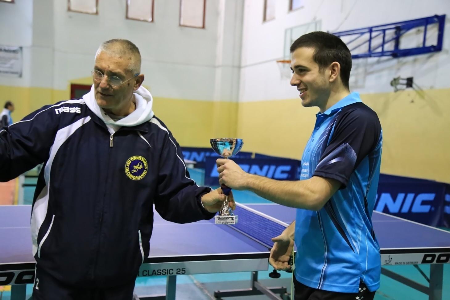 Luca Paganelli primo nei Paralimpici (Foto Tomaso Fenu)