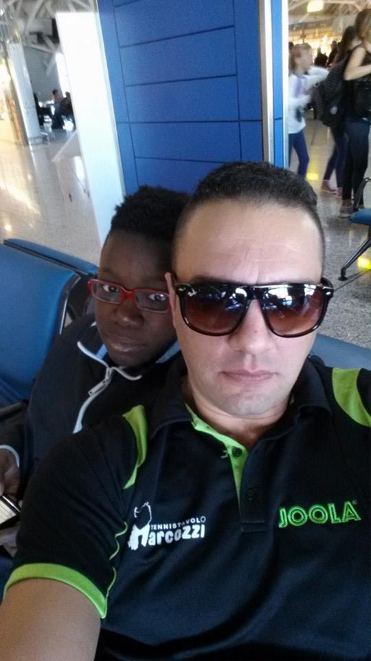 Massimiliano Mondello e Johnny Oyebode
