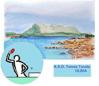 Il logo del Tennistavolo OLbia