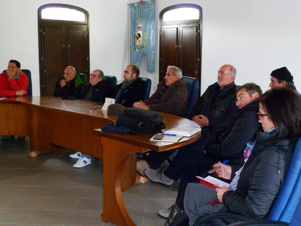Il meeting al comune di Villaputzu