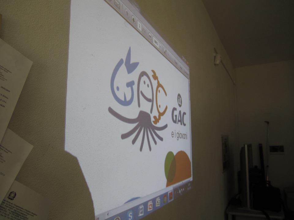 Il logo vincitore del  Concorso il Gac e i giovani