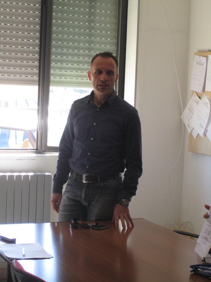 Il presidente del GAC So Fabrizio Selenu