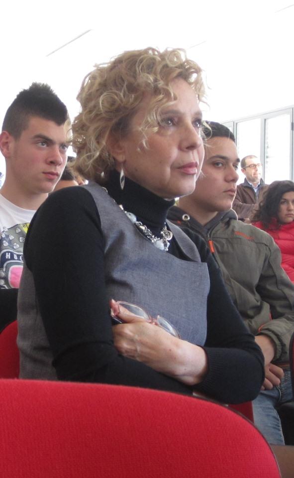 La vice preside dell'IPSAR Graziella Piras