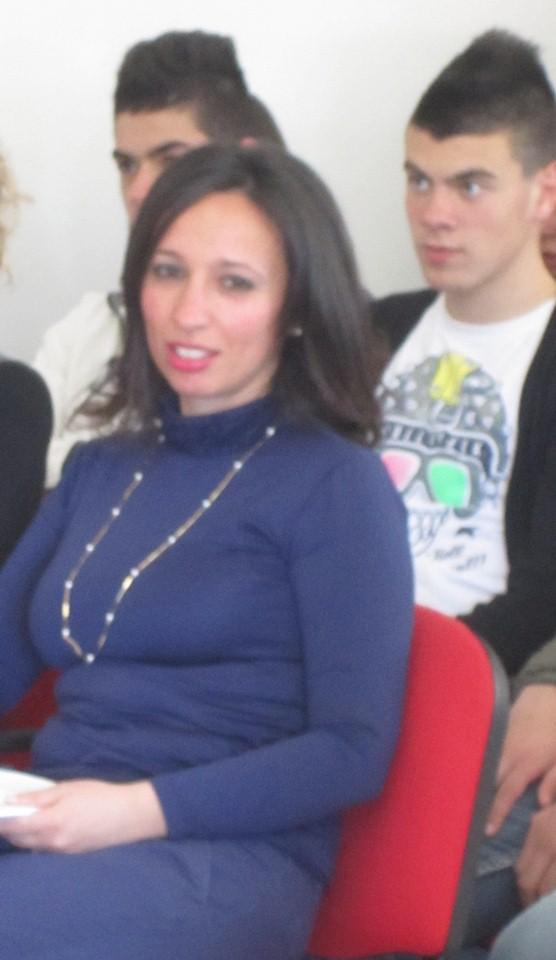 L'insegnante di alimentazione Sara Nieddu