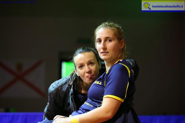 Marialucia Di Meo e Angy Papadaki (Foto Gianluca Piu)