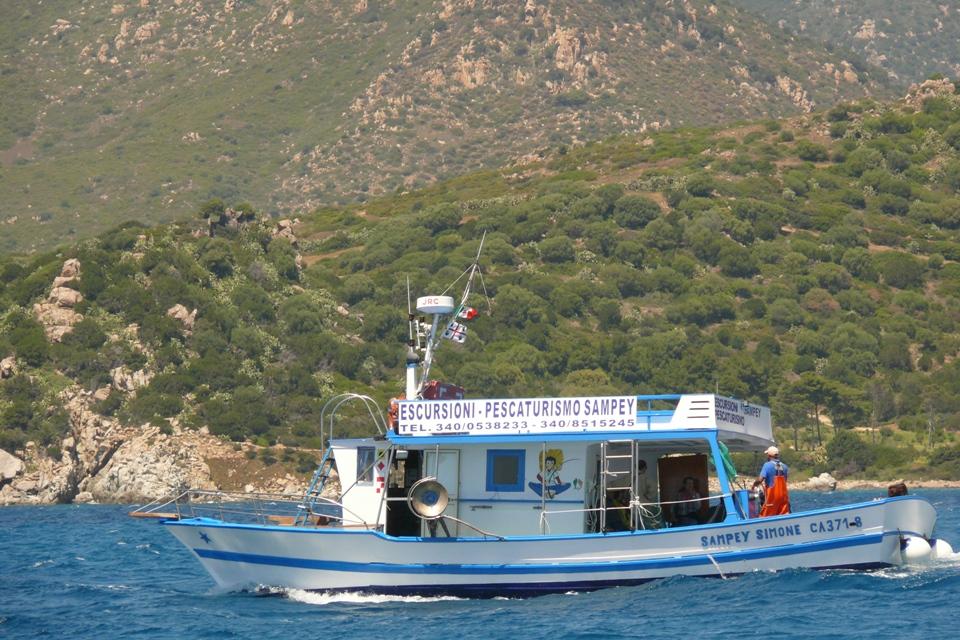Pescaturismo sulla Costa Orientale della Sardegna