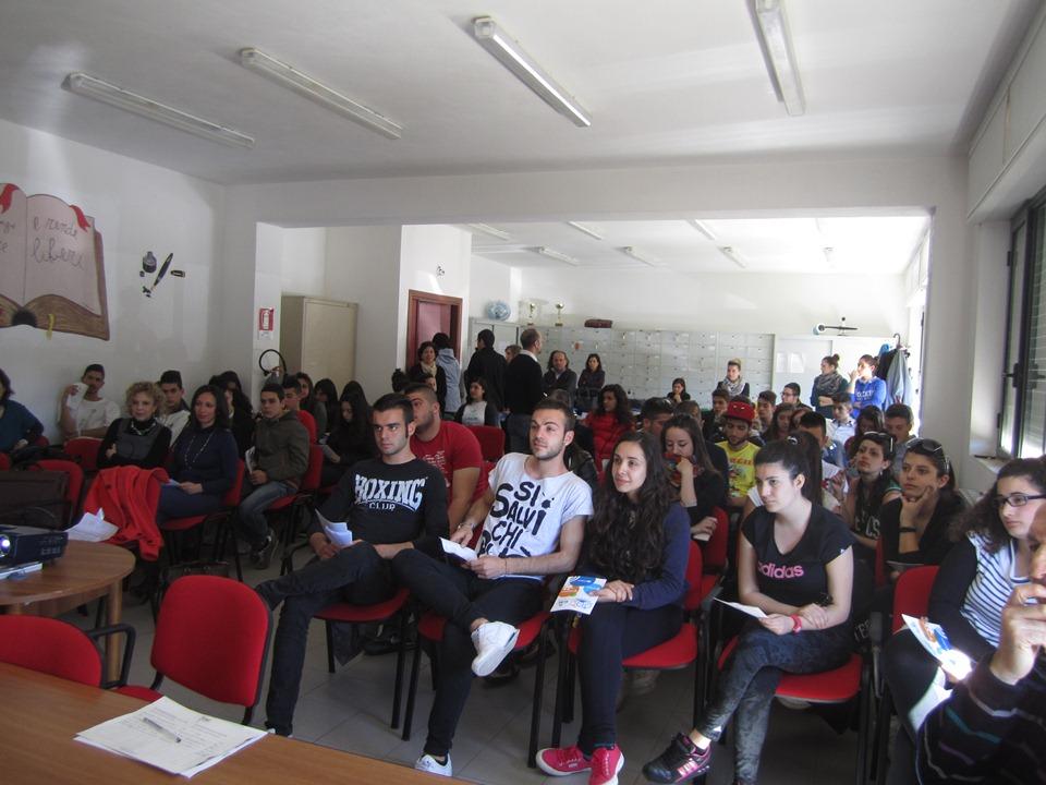Tante classi presenti alla Conferenza
