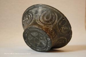 Ceramica con decorazione graffita. Cultura di S. Michele di Ozieri Foto da archeossnu.benicuturali.it