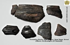 Frammenti di ceramica San Ciriaco. Foto da ab-origine.it