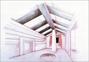 Puttifigari domus dell'ariete ricostruzione grafica