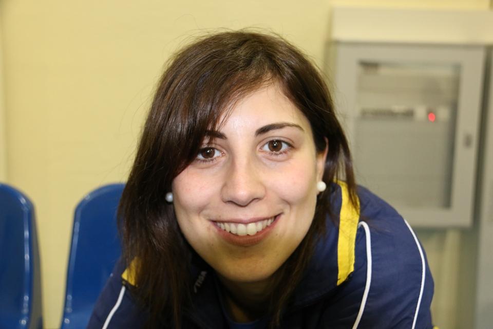 Il sorriso magnetico di Eleonora Trudu (Foto Gianluca Piu)