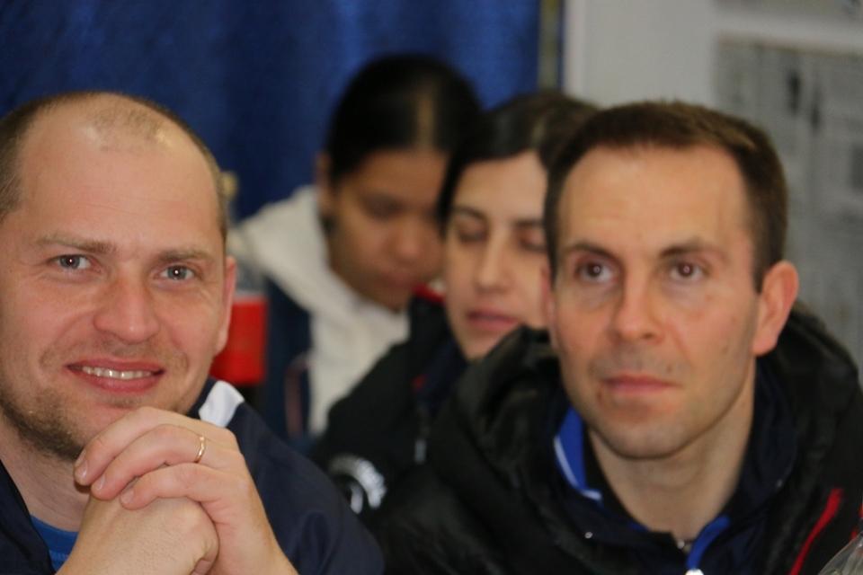 Maxim Kuznetsov e Francesco Lucesoli (Foto Gianluca Piu)