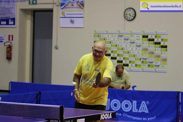 Nazzaro Pusceddu del Tennistavolo Norbello (Foto Gianluca Piu)