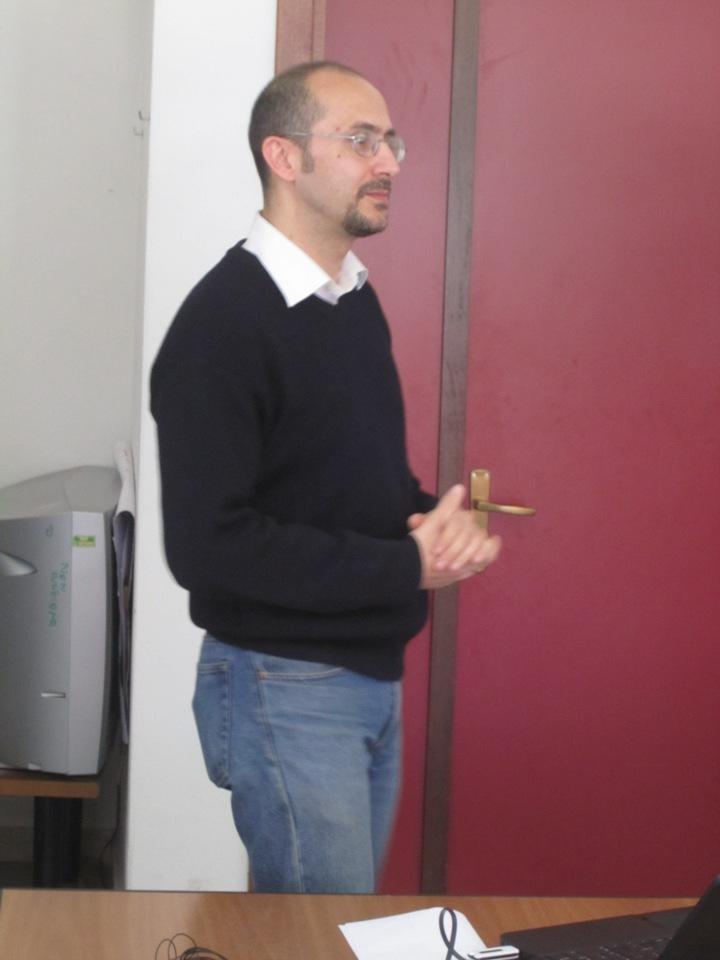 Il direttore del Gac Sardegna Orientale Davide Cao
