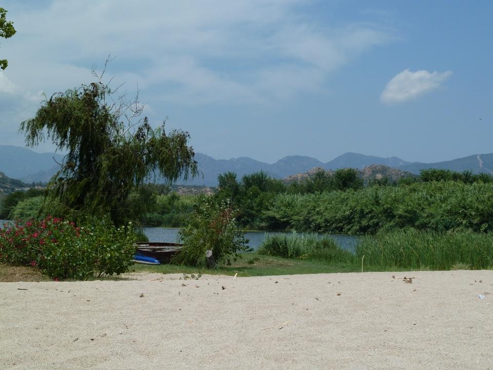Una laguna della Sardegna Orientale