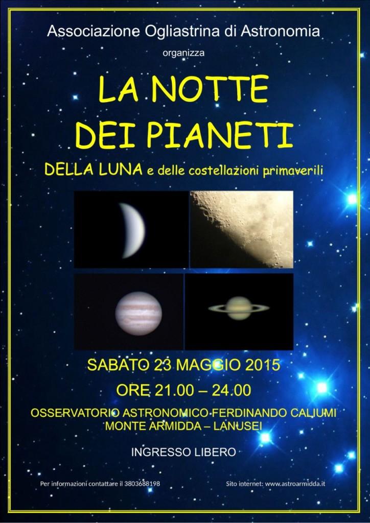 astronomia ogliastrina