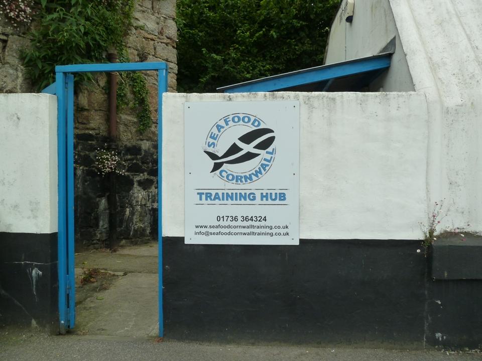 La sede di Seafood Corwall (Foto Gianna Saba)