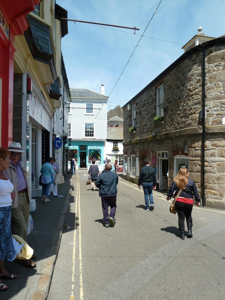 Stradine con negozi di St Ives (Foto Gianna Saba)