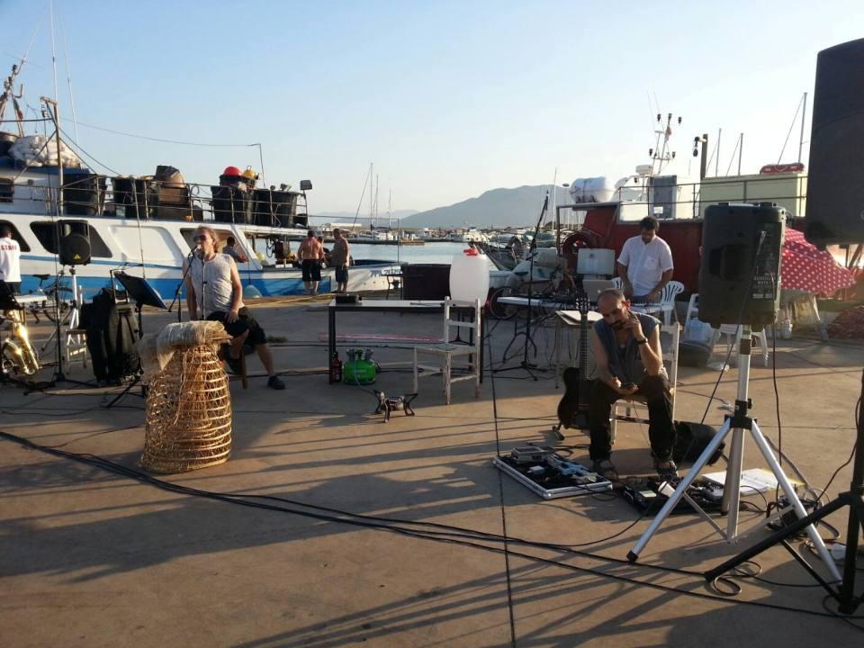 Si prova la scena a Porto Corallo (Villaputzu)