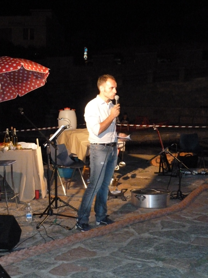 Il presidente del GAC SO Fabrizio Selenu (Foto Gianna Saba)
