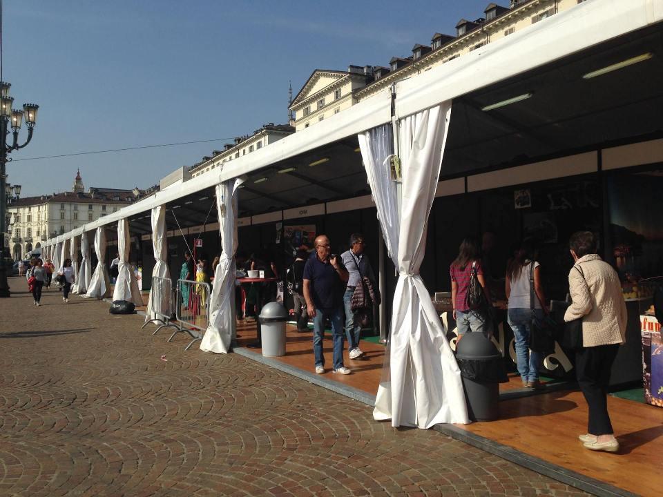 Una porzione di Piazza Vittorio Veneto a Torino