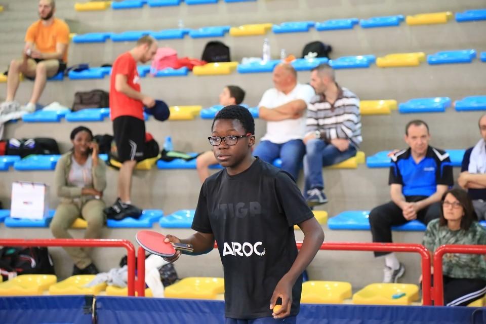 Johnny Oyebode è già a Formia (Foto Tomaso Fenu)