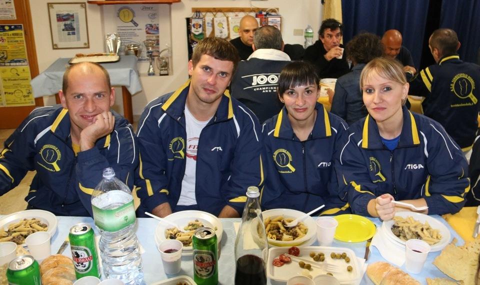 A Norbello quattro atleti dell'ex Unione Sovietica (Foto Gianluca Piu)