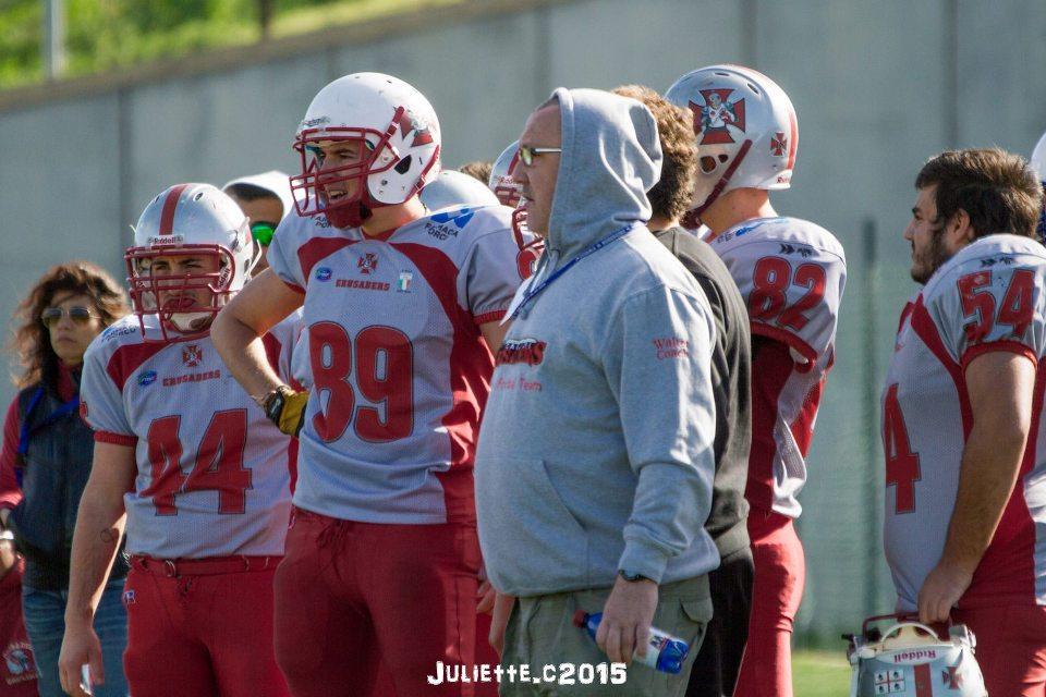 Walter Serra e i suoi atleti (Foto Giulia Congia)