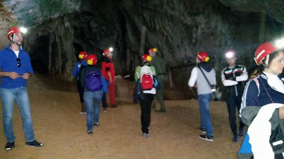 L'escursione alle grotte del Bue Marino