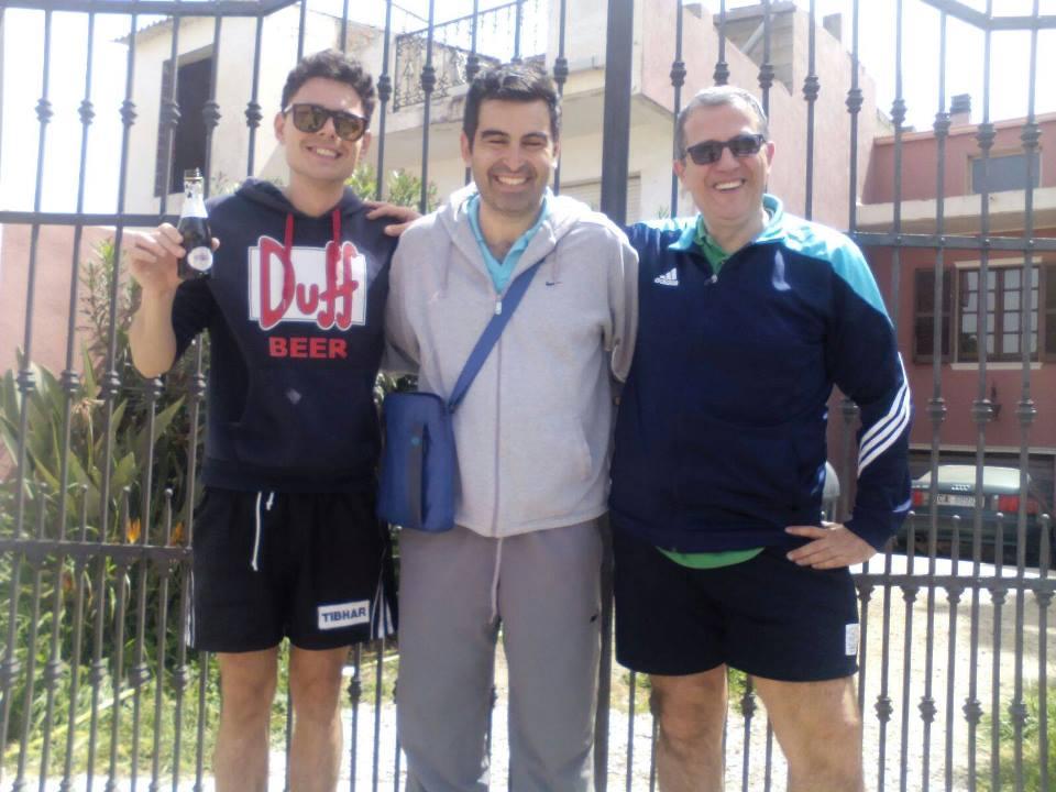 Andrea Zuccato, Cristian Puzzoni e Marco Sanna