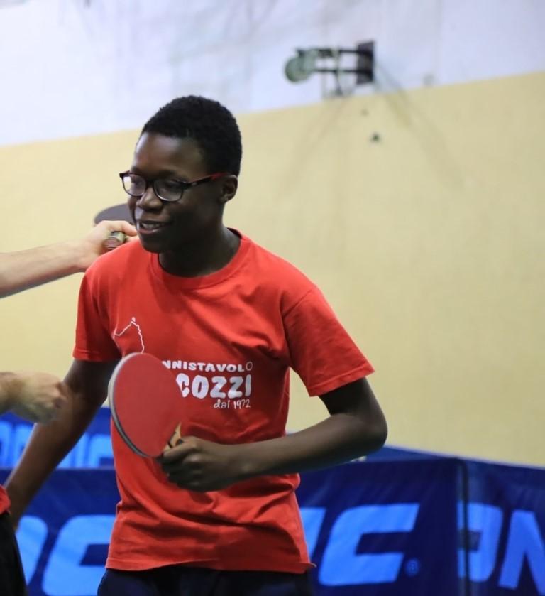 Johnny Oyebode (Foto Tomaso Fenu)