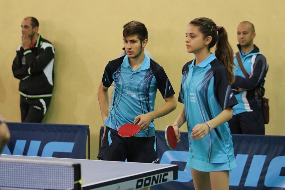 Michele Buccoli con la compagna Alice Mattana (Foto Tomaso Fenu)