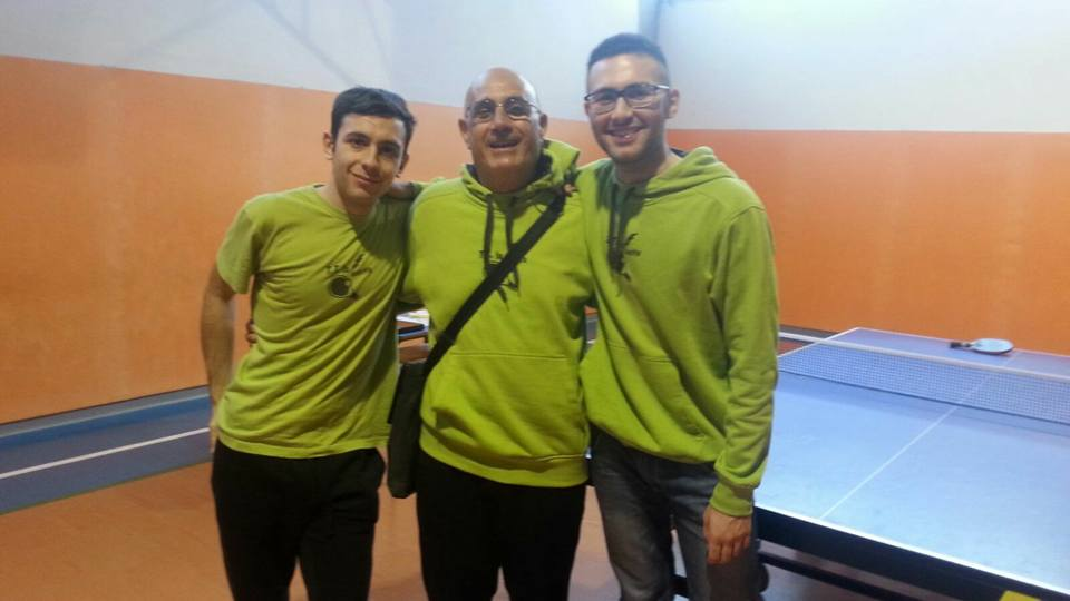 Simone Sebis, Giampaolo Manca e Davide Pusceddu