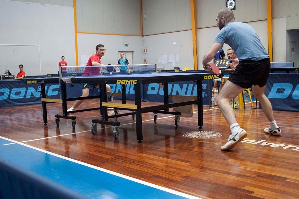 a dx Massimo Ferrero affronta Francesco Lai (Foto Andrea Zuccato)