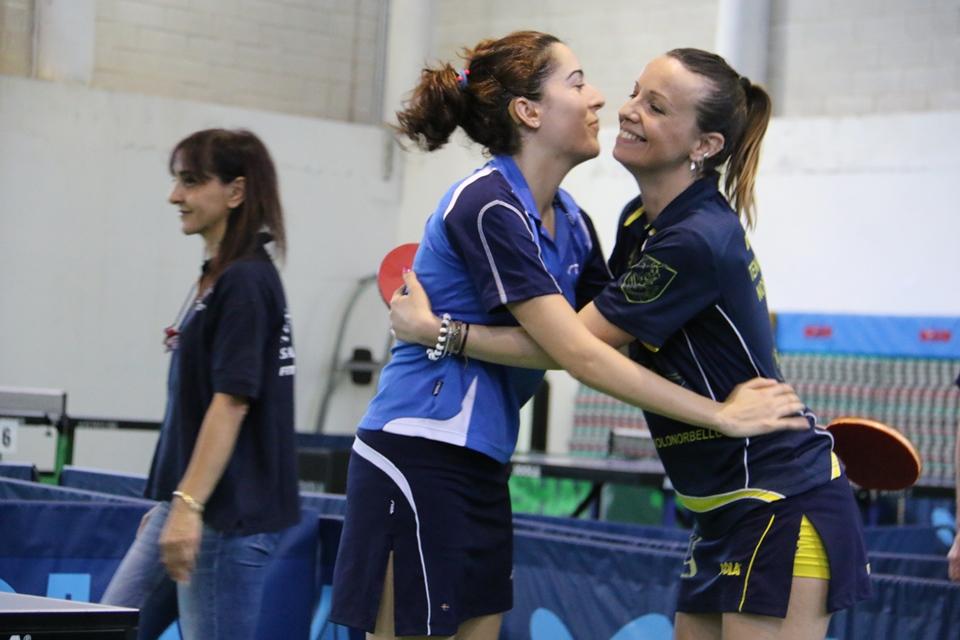 Anna Podda e Marialucia Di Meo festeggiano (Foto Gianluca Piu)